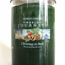 Yankee Candle Christmas in Paris World Journeys Scented Fragrance Fragranced Jar Filled Tumbler