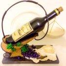 Yankee Candle Wine & Dine Tarts Warmer Hanging Jar Wax Melts Burner Merlot Bottle Grapes Home Decor