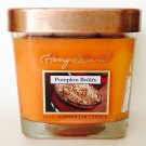 Harry & David Pumpkin Brulee Jar Candle Fragrance Scented Fragranced Home Decor 16 oz