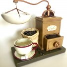 Yankee Candle Coffee Bean Grinder Wax Melts Warmer Hanging Tart Burner Cafe Classic Home Decor