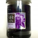 Yankee Candle Amethyst Soho Living Fragrance Scented 2 Wick Tumbler Large Jar 20 oz