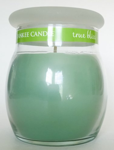 Yankee Candle Sage & White Tea True Bliss Aromatherapy Spa Scented Home Fragrance 12 oz