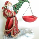 Yankee Candle Old World Santa Clause Hanging Tart Wax Melt Warmer Burner Christmas Home Decor