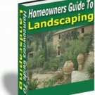 Homeowner's Guide to Landscaping