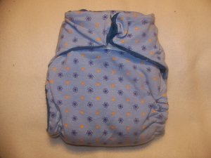 Angel Bottom's Boutique Large Fitted Diaper