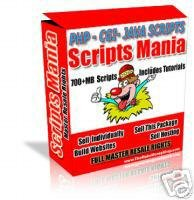 Website Scripts PHP,CGI,JAVA SCRIPTS 700+ MB OF SCRIPTS