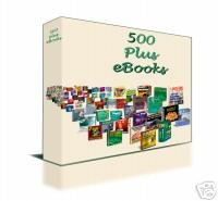 500 EBOOKS FOR THE PRICE OF ONE. RECIPES BEAUTY