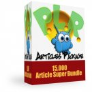 Monster PLR Article's Pack