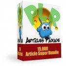 Monster PLR Article's Pack