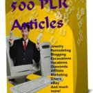 500 PLR Articles