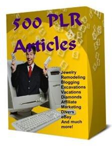 500 PLR Articles
