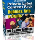 Private Label Content Pack: Hobbies & Crafts