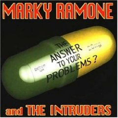 marky ramone and the intruders - the answer to your problems? CD 1999 zoe rounder new
