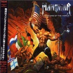 manowar - warriors of the world CD 2002 j-disc made in japan mint no bio strip