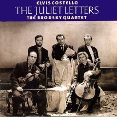 elvis costello and the brodsky quartet - the juliet letters CD 1993 warner used mint