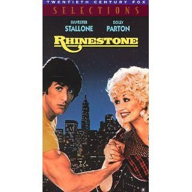 rhinestone VHS 1985 CBS fox PG 111 minutes used very good