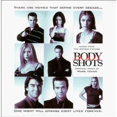 body shots - music from the motion picture - mark isham CD 1999 milan used mint