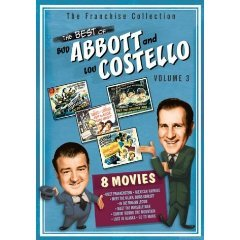 the best of bud abbott and lou costello volume 3 DVD 2-discs 2004 universal used