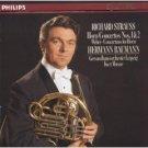 richard strauss horn concertos nos 1&2 / weber concertino  for horn CD 1984 polygram