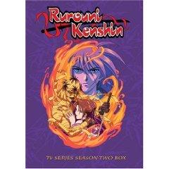 Rurouni Kenshin - TV Series Season Two DVD 8-discs 2005 used mint