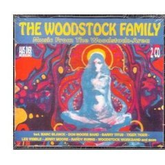 the woodstock family - music from the woodstock-area CD 2-discs 1994 zyx germany used