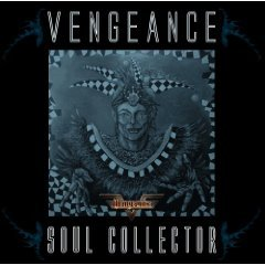 vengeance - soul collector CD 2009 metal heaven made in eec used mint