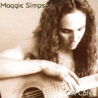 maggie simpson - OK cafe CD 1999 12 tracks used mint