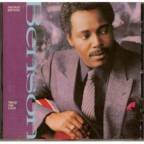 george benson - twice the love CD 1988 warner used mint