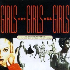 elvis costello and the attractions - girls girls girls CD 2-discs 1989 demon UK used