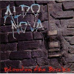 aldo nova - blood on the bricks CD 1991 polygram used mint