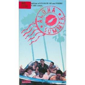 aloha summer VHS 1988 lorimar spectrafilm used good