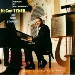 mccoy tyner - what the world needs now - the music of burt bacharach CD 1997 grp used mint