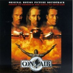 con air original motion picture soundtrack CD 1997 hollywood used mint