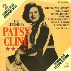patsy cline - the legendary patsy cline CD 1988 pair used mint