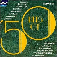 hits of '50 - various artists CD 2001 living era ASV BMG Direct 25 tracks used mint