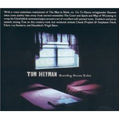 tom heyman - boarding house rules CD used mint