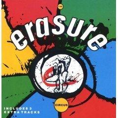 erasure - the circus CD 1987 sire used mint