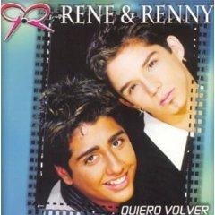 rene & renny - quiero volver CD 1999 BMG Centroamerica used mint