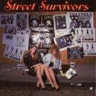 street survivors - various artists CD 1989 metal blade used mint