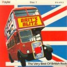 brit's blitz - very best of british rock 1&2 CD 2-discs 1987 polytel 39 tracks used mint