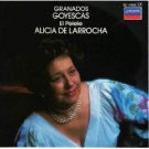 granados goyescas el pelele - alicia de larrocha CD 1984 decca london used mint