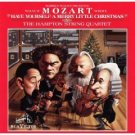 "what if mozart wrote ""have yourself a merry little christmas"" - hampton string quartet CD 1986 RCA"