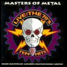 masters of metal - live the 70's ten hits CD 1993 warner essex used mint