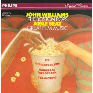 john williams & boston pops - aisle seat great film music CD 1982 polygram germany used mint