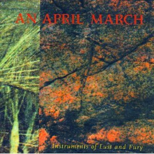 an april march - instruments of lust and fury CD ep 1995 bedazzled canada used mint