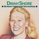 dinah shore - 16 most requested songs CD 1991 sony used mint