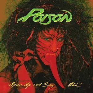 poison - open up and say ... ahh! CD 1988 capitol enigma used mint