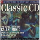 world's greatest ballet music CD 16 tracks used mint