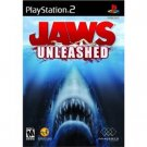 jaws unleashed - playstation 2 2006 majesco M 17+ used mint
