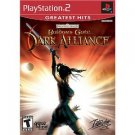 baldur's gate Dark alliance - playstation 2 2001 interplay Teen used mint
